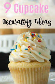 Easy Decorating Ideas For Christmas Cupcakes Also Easy Cupcake
