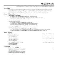 Sample Resume For Accounting Student Best Training Internship Resume