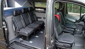 how to add custom seating to sprinter van or camper van