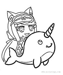 Get a free club title at level 5! Gacha Life Senpaibuns Coloring Pages Xcolorings Com