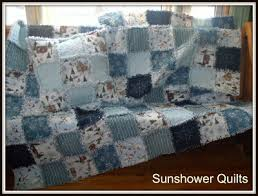 Sunshower Quilts: Blue Snowman Rag Quilt & If you've been following along, I bought fabric, started working on A rag  quilt, changed my mind, bought more fabric and now have ended up with two  rag ... Adamdwight.com
