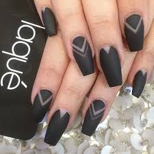 576 in 76 wver they told you about acrylic nails coffin matte black