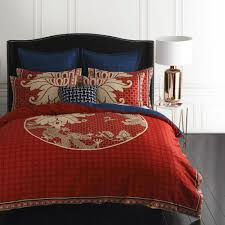 duvet cover red and blue