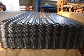 color coated corrugated metal steel