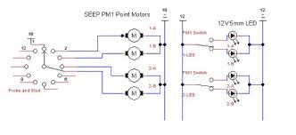 control panel led brightness and related queries new railway Wiring Diagram Seep Point Motors note diagram illustrates 2no pm1 units (1, 2) with one motor ( a, b) for each motion wiring diagram seep point motors