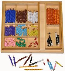 Wooden Bead Game MONTESSORI Equipment ADDITION SNAKE Bead Game in WOODEN Box 45