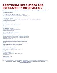 scholarships lares scholarships for undoc students updated 2016 page 1 scholarships for undoc students updated 2016 page 2
