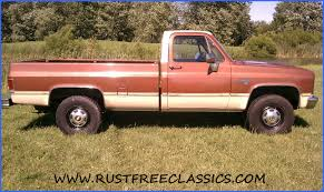 1985 85 Chevrolet Chevy K20 3/4 ton 4x4 Four Wheel Drive Regular ...