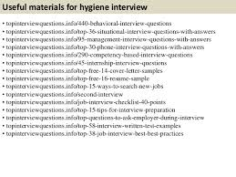 health and hygiene questions and answers ~ Odlp.co Top 10 hygiene interview questions with answers11.