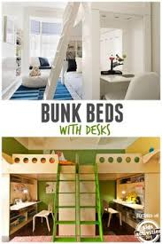 40 bunk bed ideas for kids rooms bunk bed desk