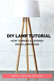How To Make A Tapered Lampshade In 2019 Diy Wooden Lamp Ideas