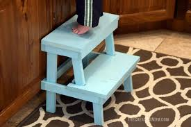 Step Stool Plans Designs 13 Different Diy Step Stools For The Family To Utilize