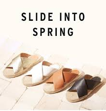 slide into spring introducing the leather criss cross sandal