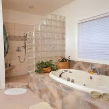 glass block bathroom ideas. to make the most of available space in this bathroom glass block shower wall ideas