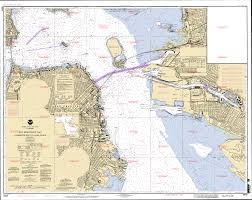 Charts San Francisco Bay Sacramento River Delta