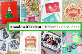 christmas postcard maker make your christmas cards this year cricut