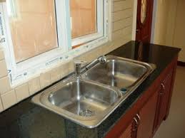kitchen sink installation above picture western kitchen sink installed