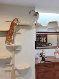 wall mounted cat furniture. Cat Tree By Frosta X Ikea Hackers Wall Mounted Climber Furniture O