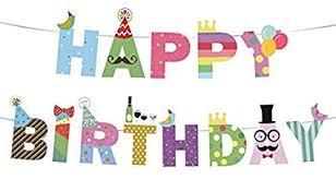 1st birthday banner amazon com happy birthday banner birthday decorations premium