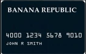 Banana Republic Credit Card How To Apply Login Activation