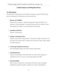 Safety In Design Report Template