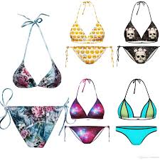 Bikini Patterns Simple Decoration