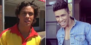 home and away s mason morgan is looking very different after home and away s mason morgan is looking very different after losing his curls