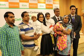 fortis foundation operations smile india launch prehensive cleft lip and palate care centre