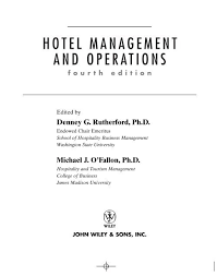 The kitchen brigade mehernosh dhanda slide: Hotel Management And Operations Pdf Mba