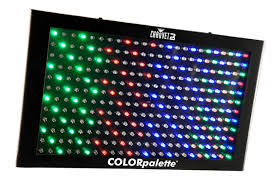 Chauvet Dj Colorpalette 288x0 25w Rgb Led Panel Light With