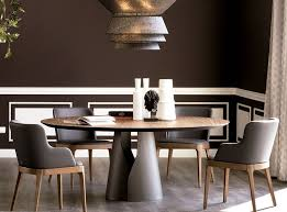 cattelan italian giano round dining table made in italy