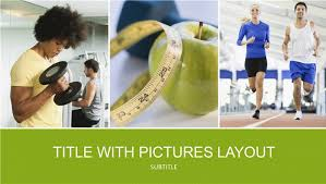 Health And Fitness Presentation Widescreen