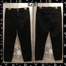 Womens Forever 21 Black Jeans Size 31 Size L Or 12 Depop