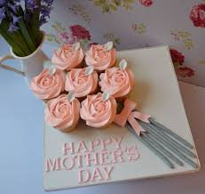Cake Bouquet Little Paper Cakes Mothers Day Cupcakes Family