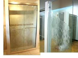 frosted shower door glass lovely catchy doors with froste