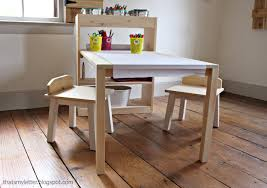 ana white kids art center diy projects arts and crafts table for toddler plans from