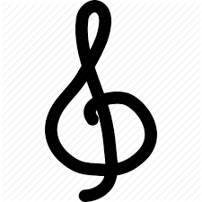 Learn all about the treble staff and the note names for each line and each space in this episode of the music show. Classic Music Clef French Violin Clef G Clef Melody Treble Clef Icon Download On Iconfinder