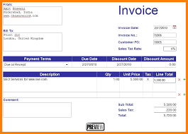 20 Free Invoices Online World Wide Herald