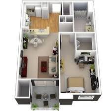 70 best 3D Plans images on Pinterest | Apartment plans, Apartment ...