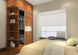 Interesting Bedroom Wardrobe Closets For Perfect Bed Storage Settings :  Appealing Wooden Bedroom Wardrobe Closets Coupled