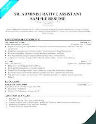 Resume Example Administrative Assistant Wikirian Com