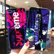 creative color painting tempered glass phone case for iphone 6 7 8 x