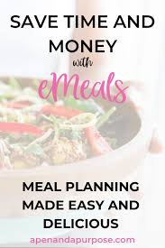 emeals review 2019 save time money