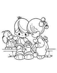 Small Picture Shocking Ideas Precious Moments Valentine Coloring Pages Free