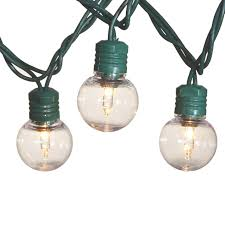 15 Count Led Commercial Style Globe Lights G30 Globe String Lights 25 Count At Home