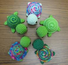 Free Crochet Patterns New Tiny Striped Turtles Free Crochet Pattern I'll Pin These For My