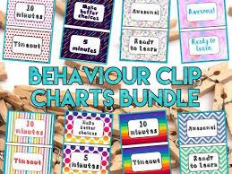Behaviour Clip Chart Bundle