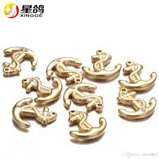 2018 gold silver plated anchor charm pendants for jewelry making stainless steel accessories bracelet diy findings whole from mina8868 0 78 dhgate
