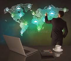 office world map. Download Salesman Drawing On World Map At Office Stock Photo - Image Of Commercial, Caucasian S