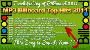 Chart Hits 2011 Mp3 Billboard Top Hits Mp3 Billboard Top Hits 2011 2012